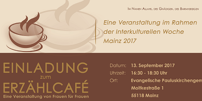 Einladung Mainz 13. September 2017
